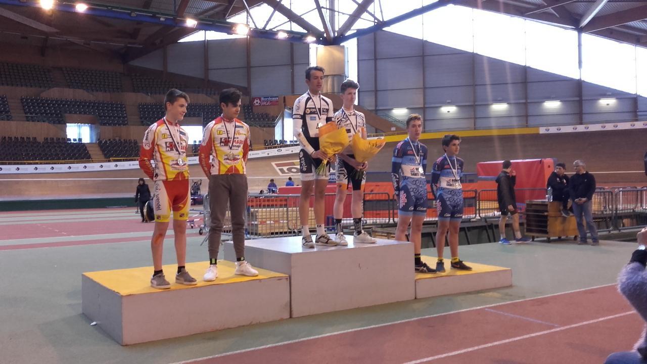 podium américaine