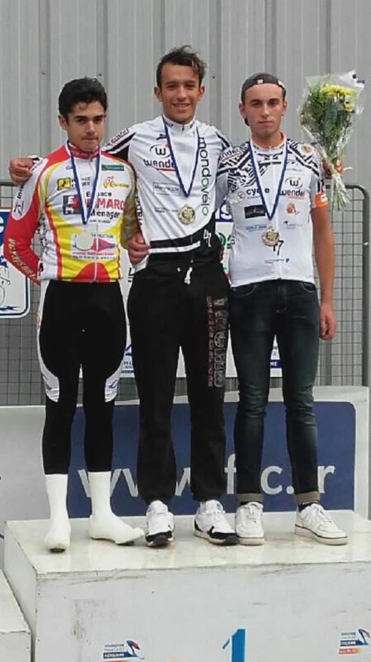 Championnat aquitaine clm cadet 1