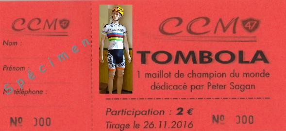 Tombola specimen